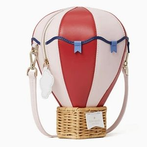 NWT Kate Spade Hot Air Balloon Crossbody